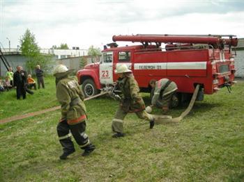 Конкурс юных пожарных выявил самых ловких, быстрых и смелых