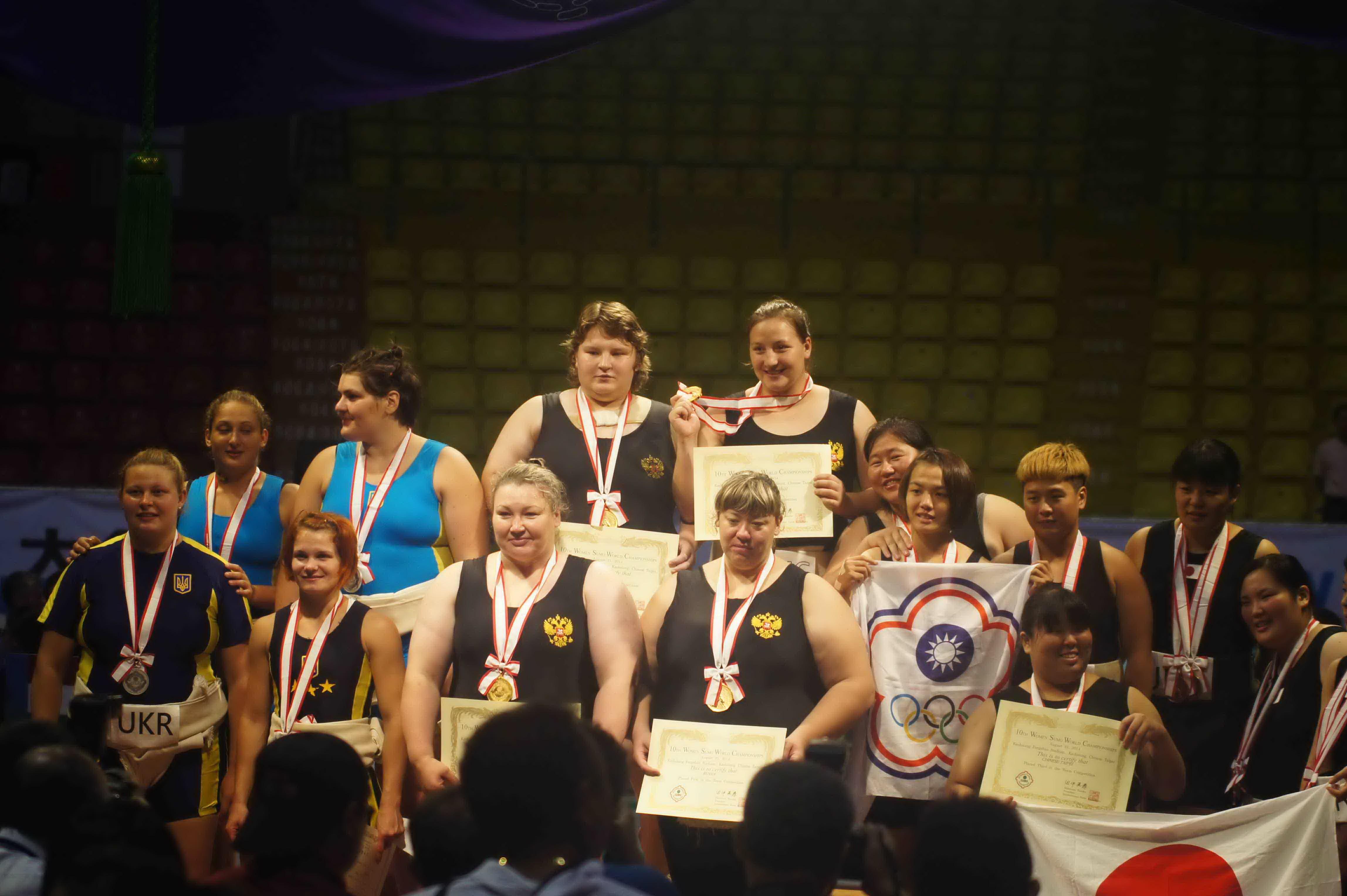 О Чувашской чемпионке мира по сумо узнал весь мир
