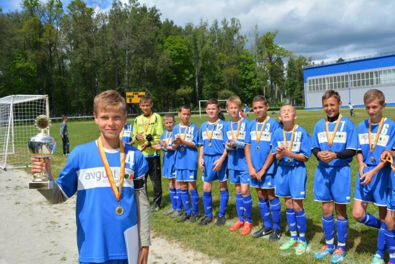 Завершились республиканские соревнования по футболу \'Кожаный мяч\' в средней и младшей группах