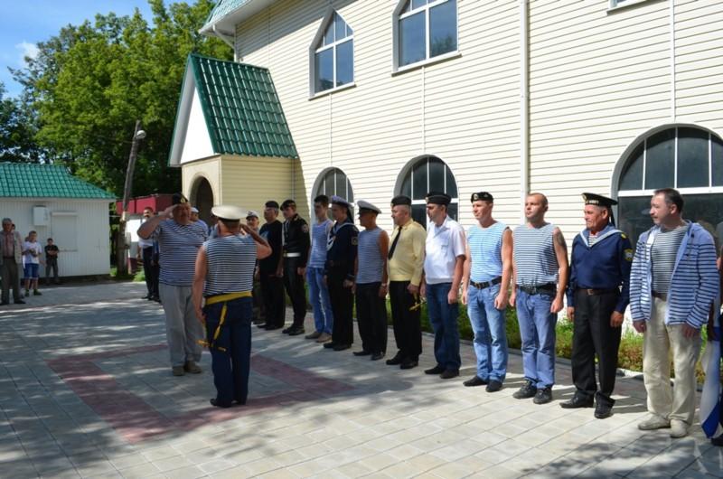 В День Военно-Морского Флота в Шумерле открылся сквер моряков