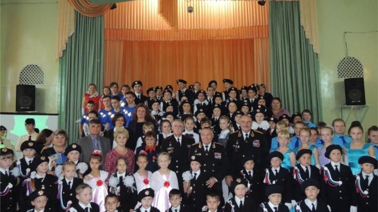 Юные патриоты. Шумерля встретились с руководителями организации морских пехотинцев \'Тайфун\'