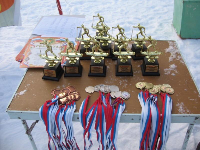 Призы, медали и кубки