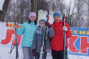 Шумерлинцы стали участниками «Лыжни России-2017»