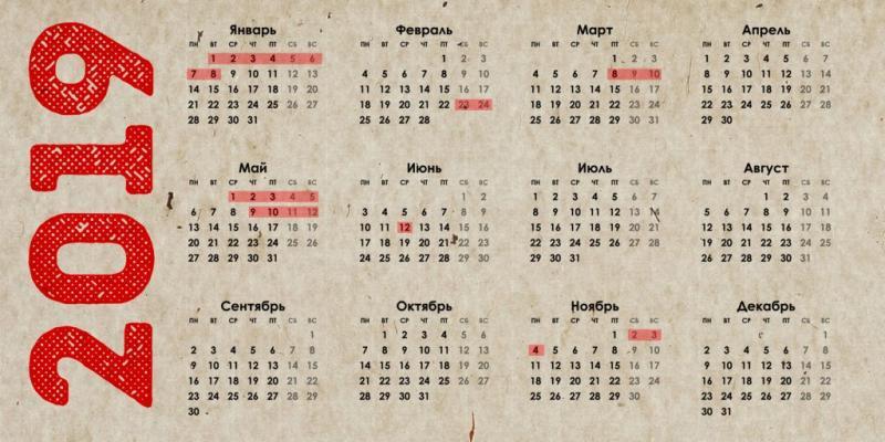Kaк мы будет отдыхать в мае 2019 года - официальные выxoдныe, праздники и другие даты