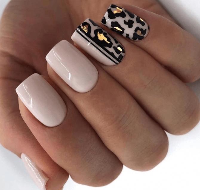 Модный осенний маникюр 2019
