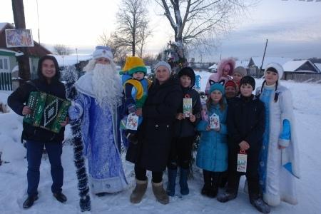 Накануне Нового года и в каникулы в Шумерле проходят праздничные мероприятия