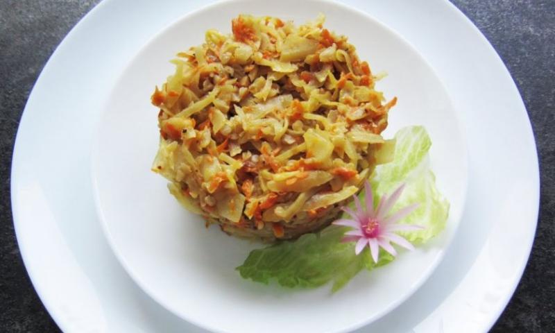 Особенности диеты на гречке с овощами
