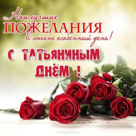 Картинки на Татьянин день - прикольные открытки поздравления на 25 января 2020