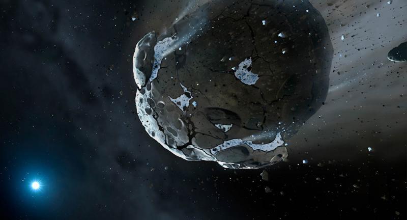 NASA сообщило о приближении к Земле потенциально опасного астероида
