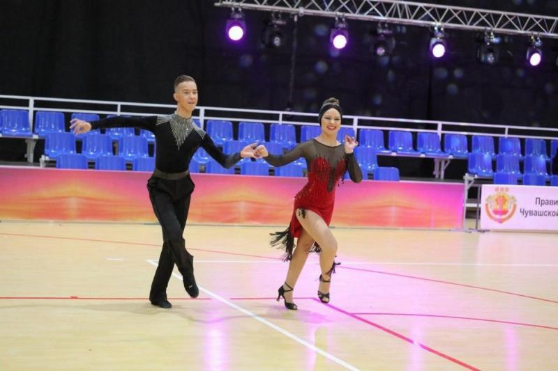 В Чебоксарах состоялся чемпионат и Первенство Чувашии по танцевальному спорту