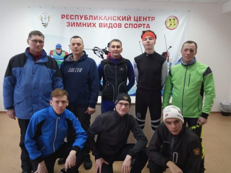 Команда города Шумерля приняла участие в Чемпионате Чувашии по лыжным гонкам