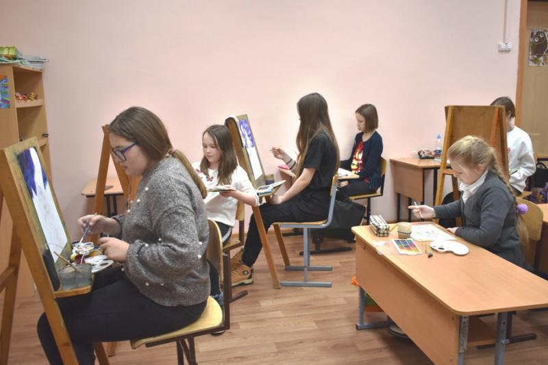 Шумерлинцы присоединились к Всероссийскому изобразительному диктанту