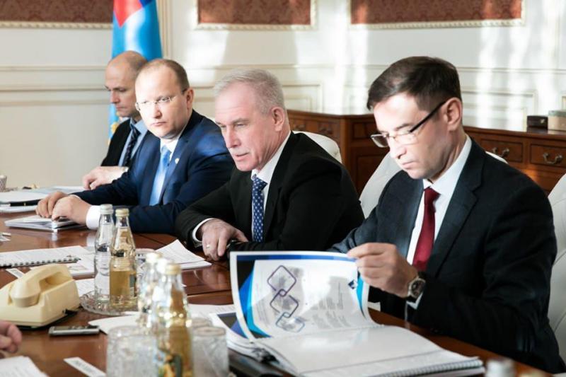 Со встречи с замминистра транспорта РФ Алафиновым: еще четыре ульяновские дороги намерены передать в федеральную собственность