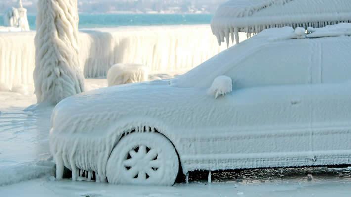 Вождение автомобиля в зимний период