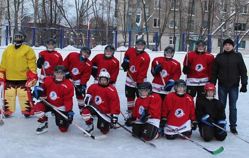 Хоккей в шумерли